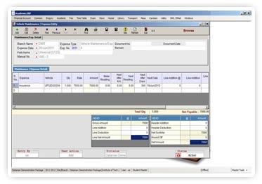 College Transportation Management Software